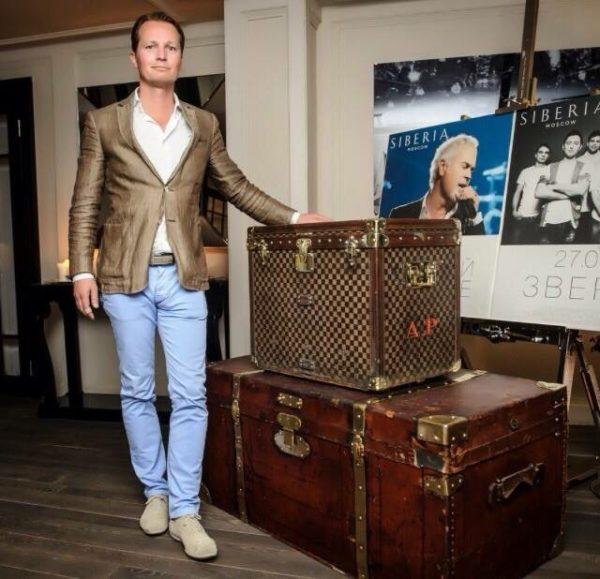 чемодан антикварный старинный пинакер