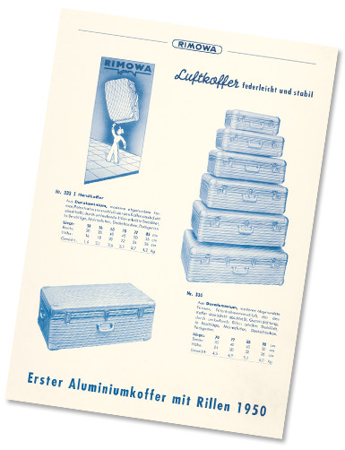 RIMOWA чемодан середина 20 века