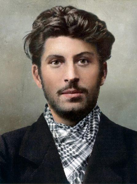 молодой Сталин, Джугашвили