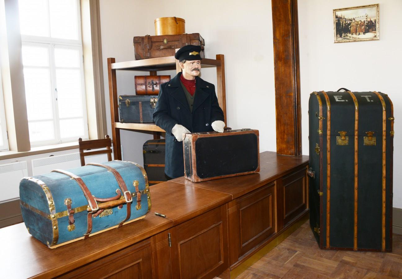 чемодан, музей багажа