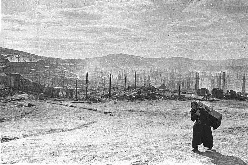 беженцы, Великая Отечественная война,чемодан