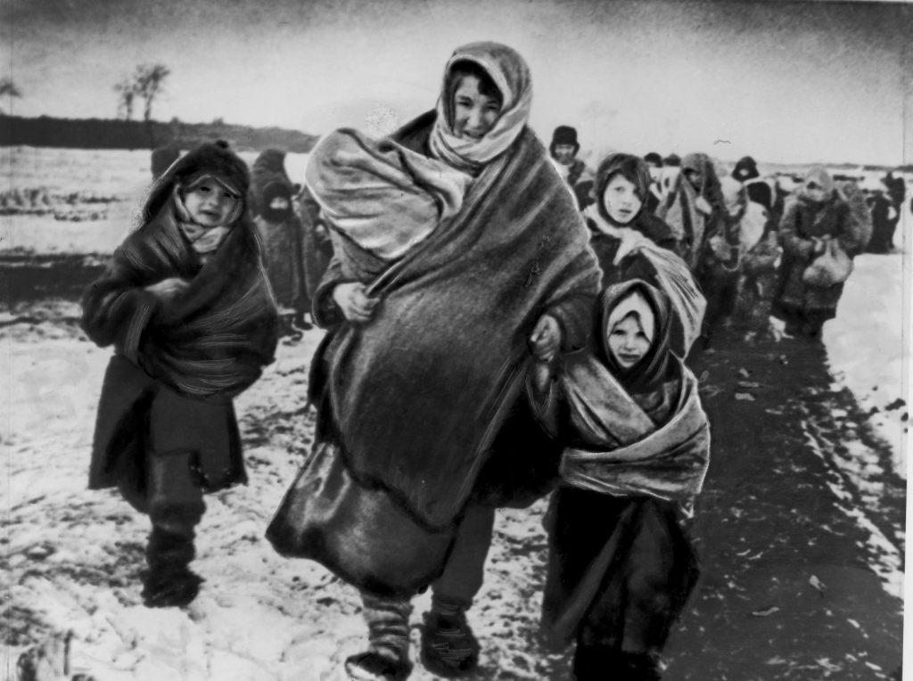 беженцы, Великая Отечественная война
