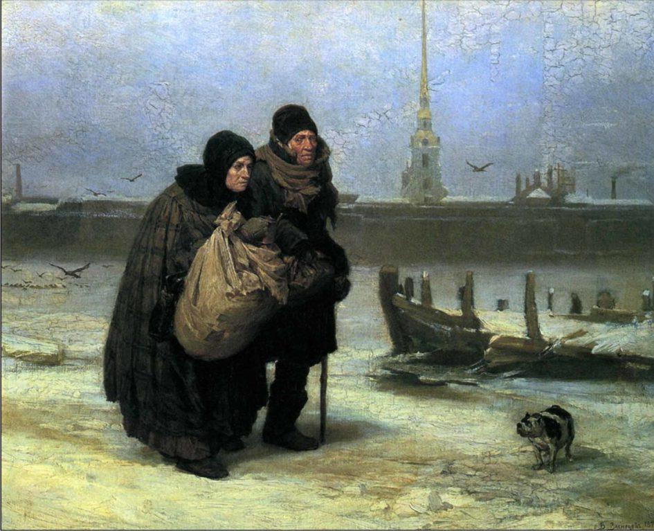 багаж,живопись,Васнецов