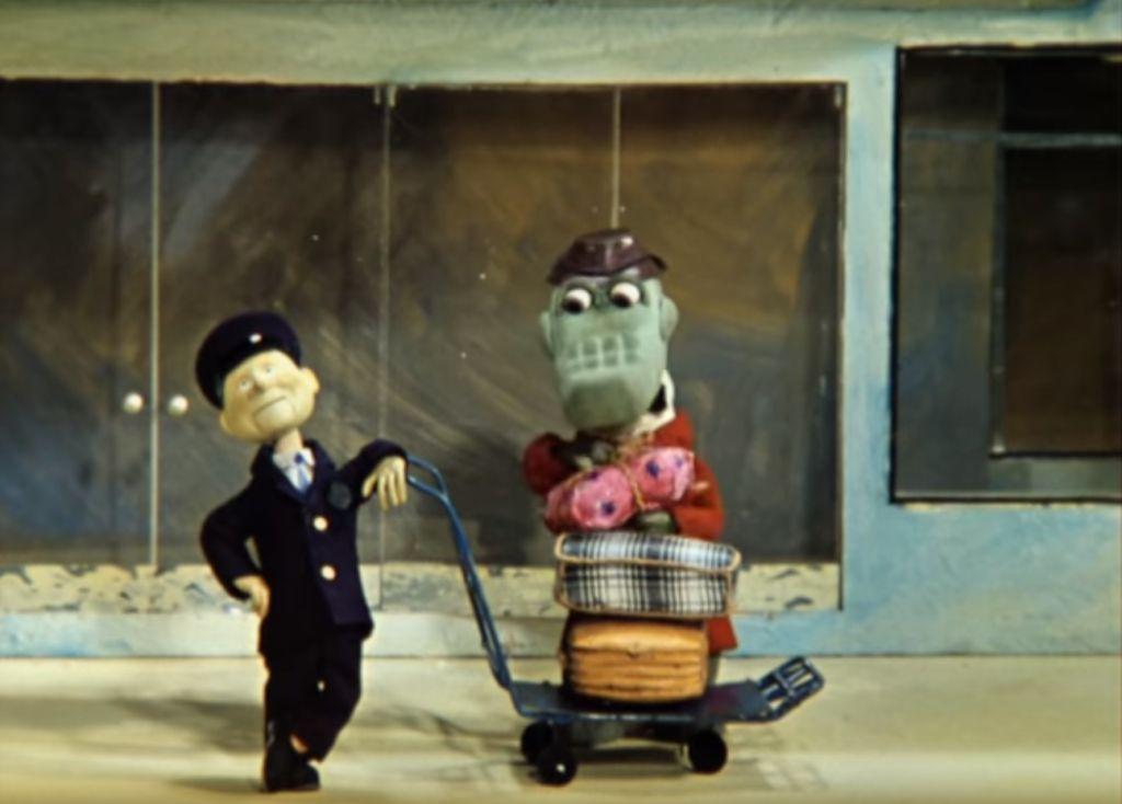 Крокодил Гена,багаж,советский мультфильм