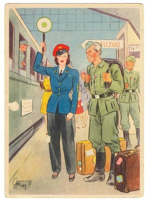 чемодан,немецкий солдат, Вторая мировая война