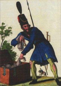 казак,антинаполеоновская война,карикатура