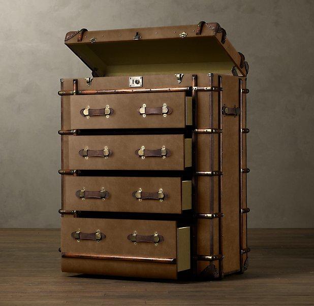 Restoration Hardware,мебель,чемодан