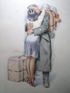 чемодан, немецкий солдат, Франция, Вторая мировая война