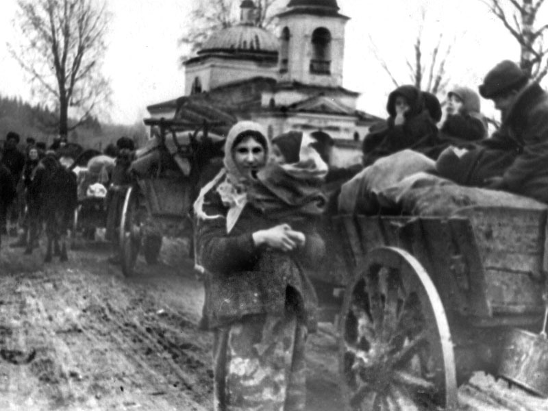 беженцы,Первая мировая война