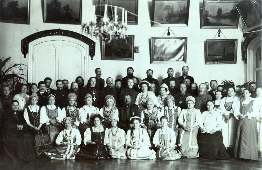 старинное свадебное фото
