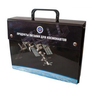 чемоданчик,продукты для космонавта