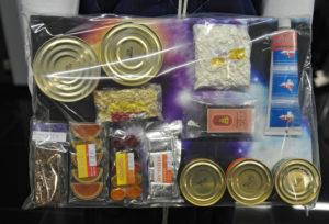 продуктовый набор космонавта