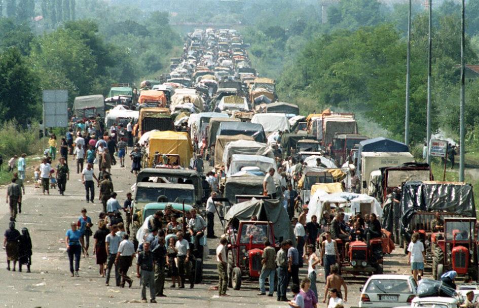 беженцы,сербы