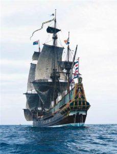 парусный корабль в иоре