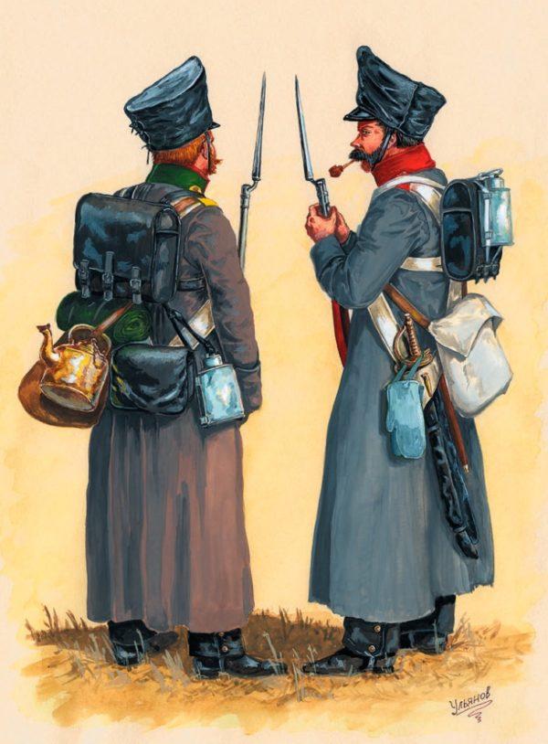 старинный солдатский ранец