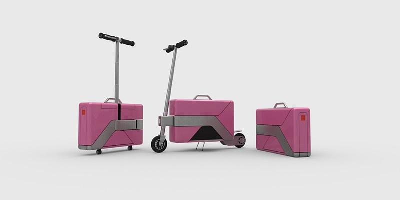 Скутер Commute-Case,чемодан