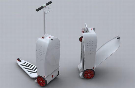 Электрический самокат-чемодан NEXUS