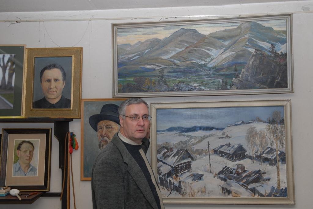 Аркадий Константинов,картины пермского художника И.И.Осипова