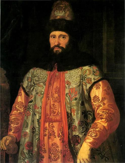 русский посол Иван Чемоданов,венецианская одежда 17 век