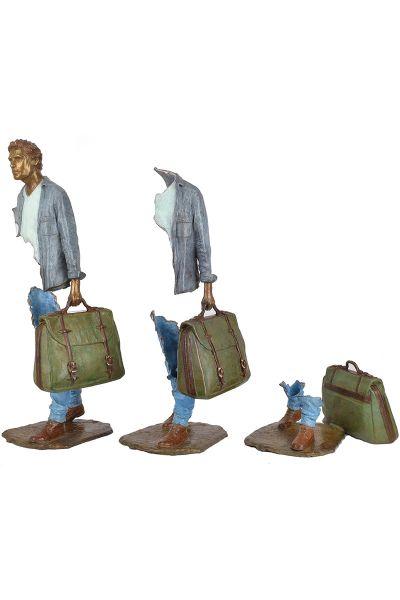 рваная скульптура Бруно Каталано