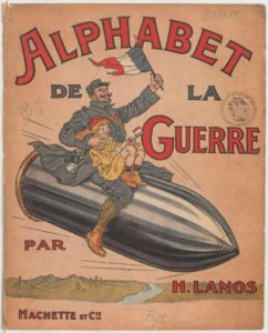 alphabet de la guerre,снаряд