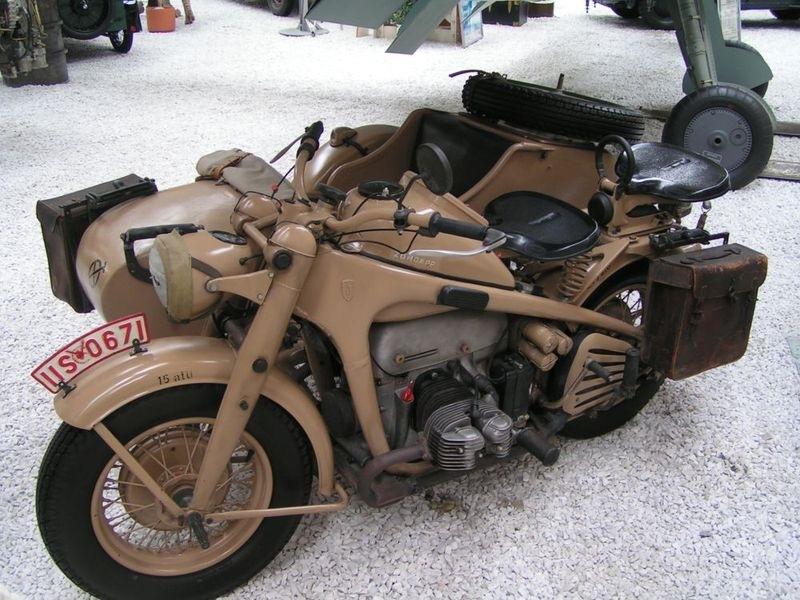 Мотоцикл Zündapp KS750