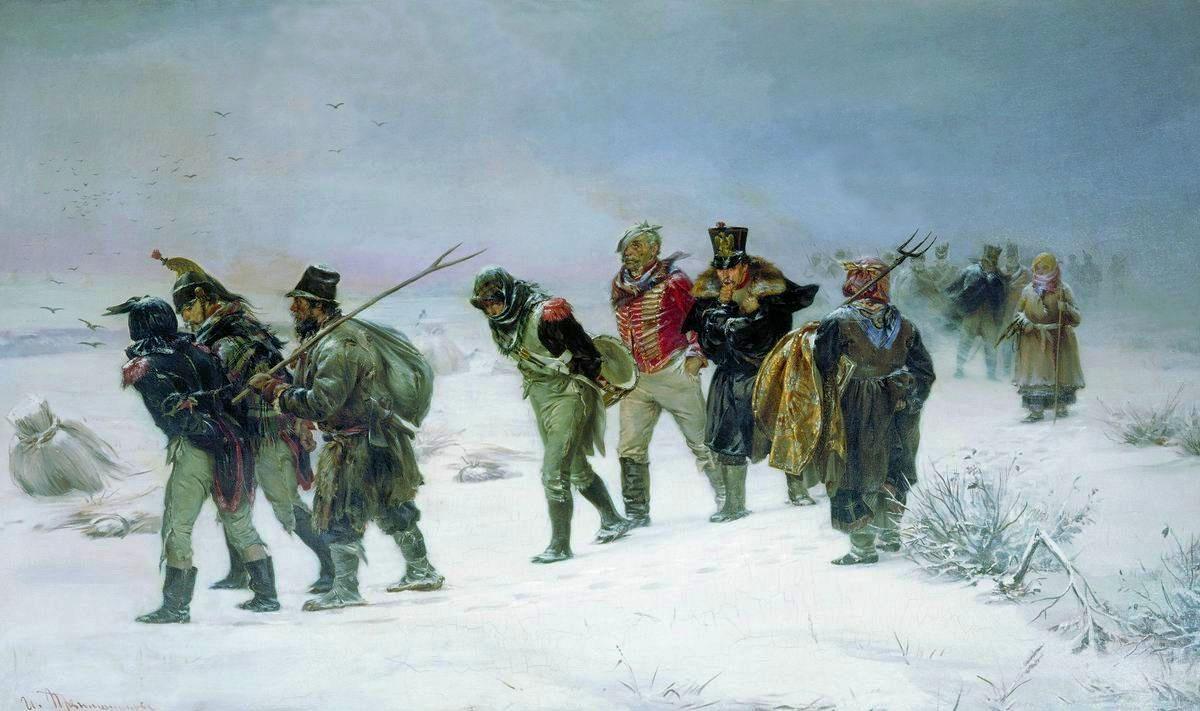 отступление наполеоновской армии 1812 г.