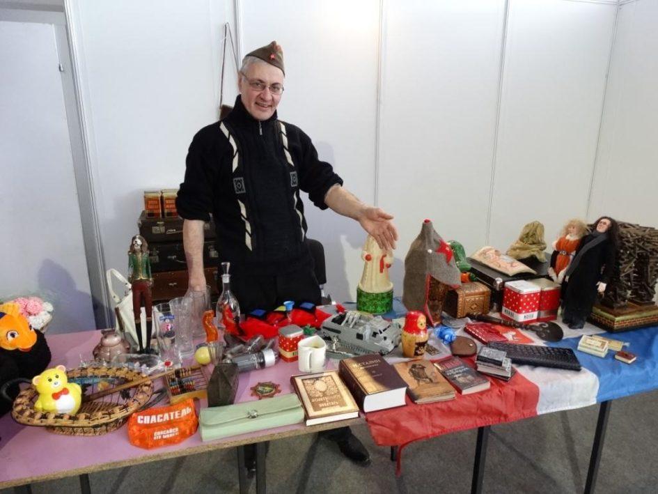 Блошиный рынок в Перми,Аркадий Константинов