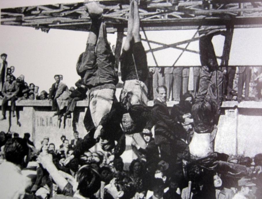 казнь Муссолини