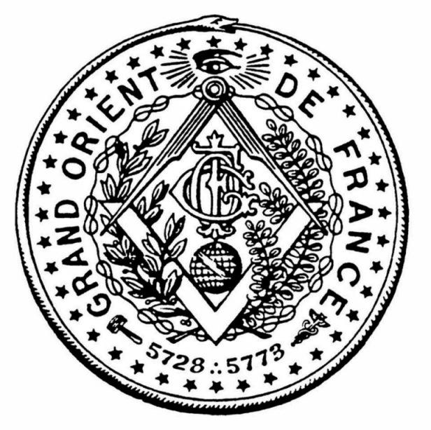 """масонская ложа """"Великий Восток Франции"""""""