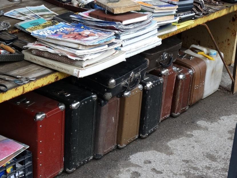 пермская блошка,чемоданы