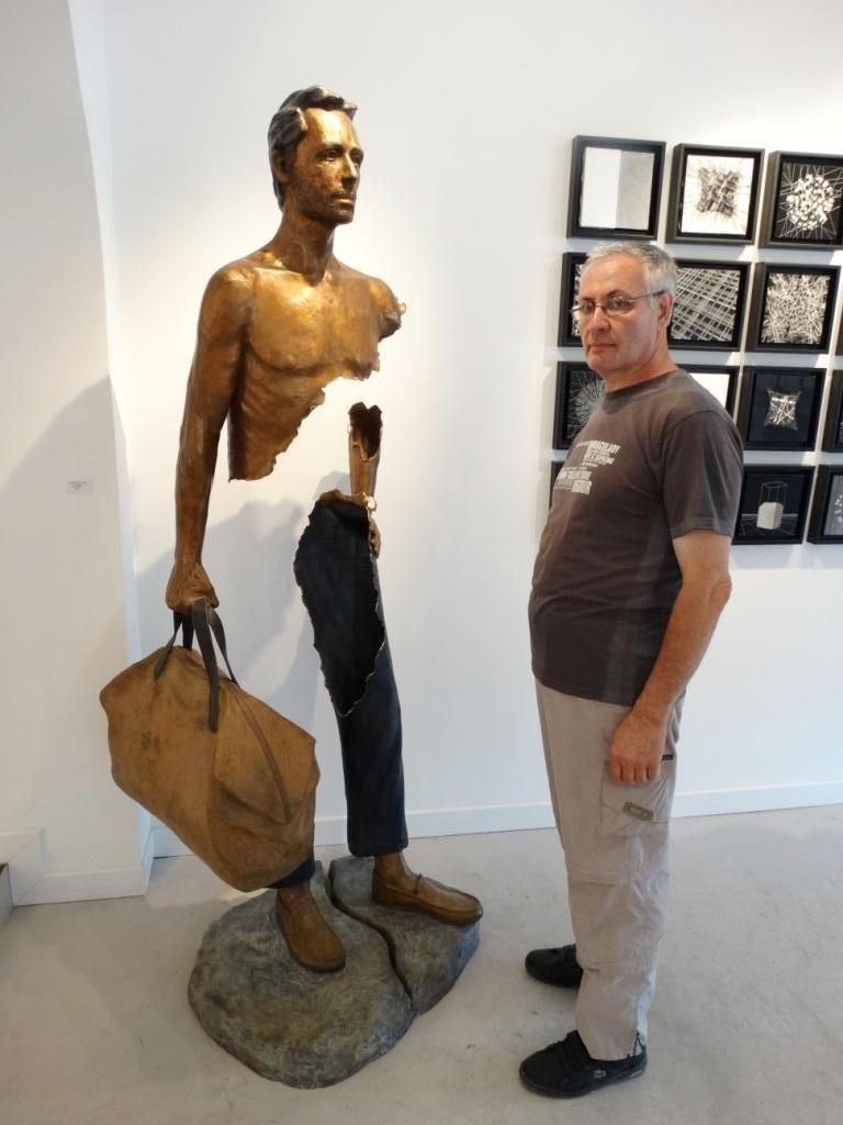 рваные скульптуры Бруно Каталано