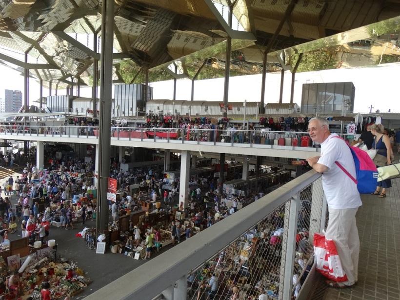 блошиный рынок Encants Vells, Барселона, Испания