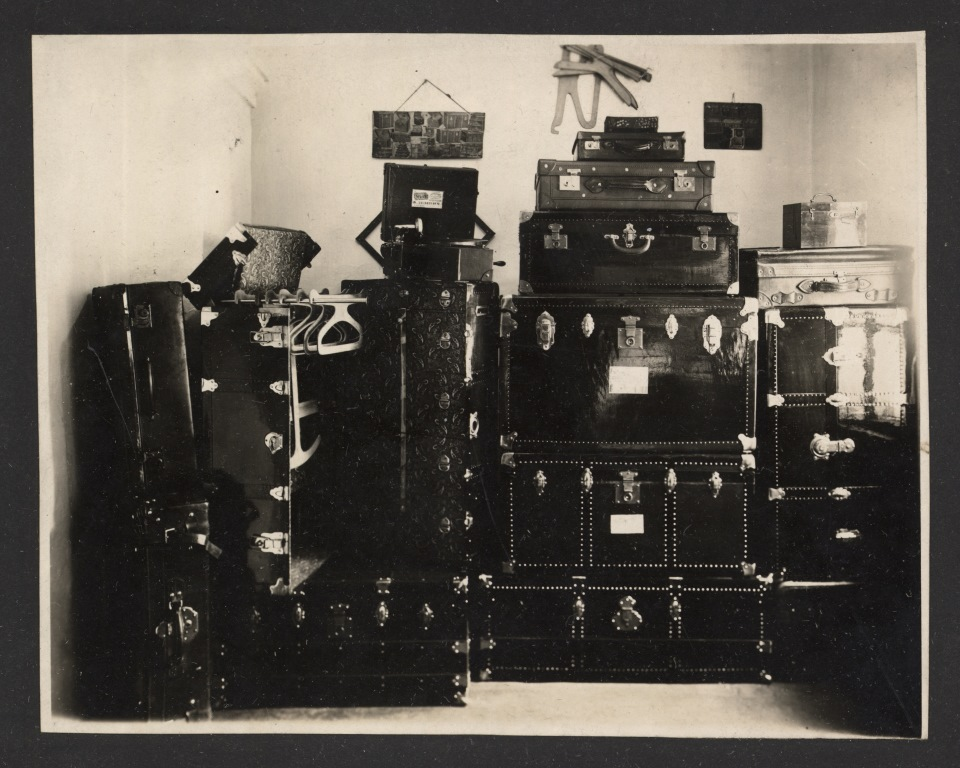 чемоданы и кофры фабрики Демпиха