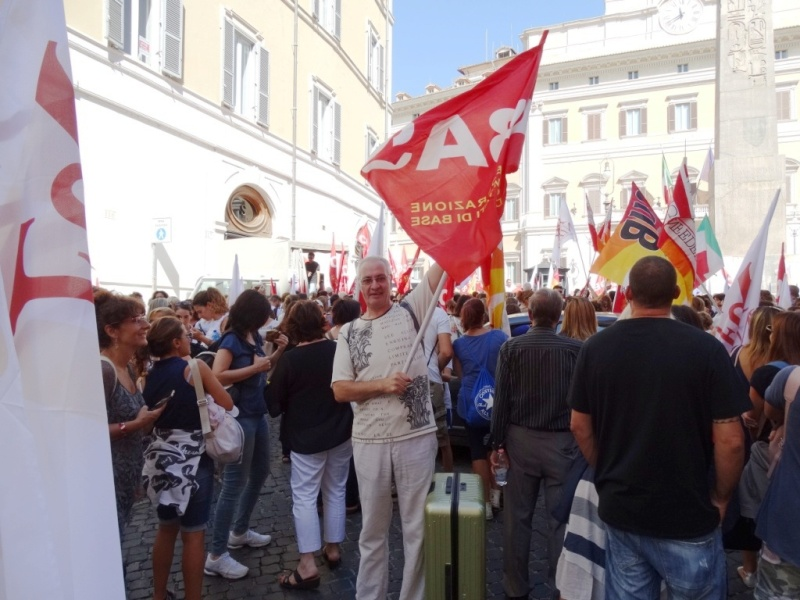 митинг в Риме