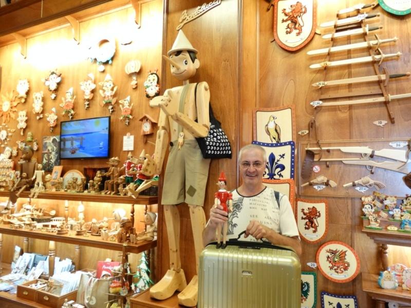 буратино,магазин в Риме,пиноккио