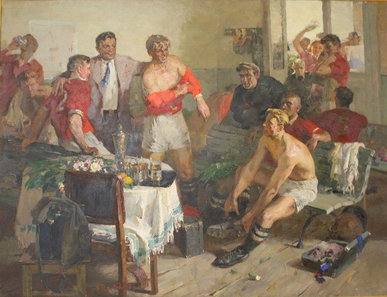 Владимир Рутштейн «После победы» 1957 год