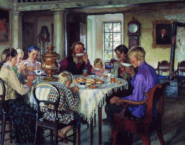 Богданов-Бельский Новые хозяева 1914