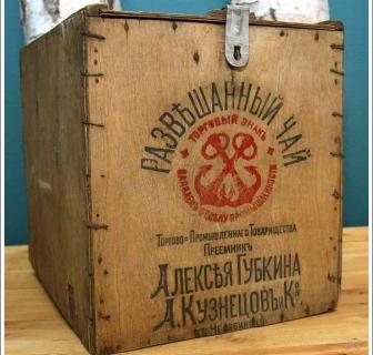 деревянная упаковка чай