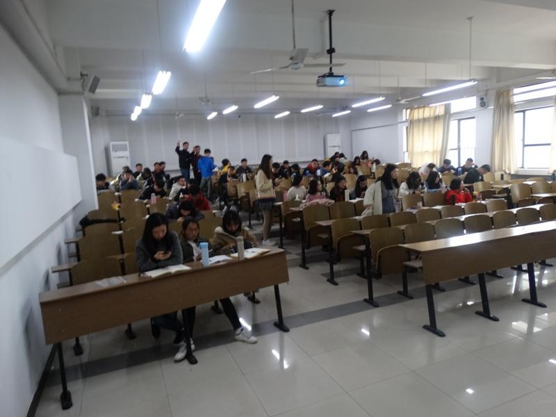 Занятия в Анхойском университете,Китай,Хэфэй,китайские студенты