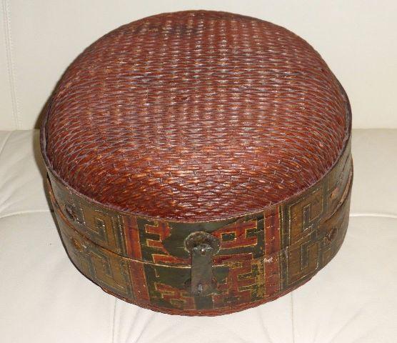 китайская корзинка конца XVIII – ХIХ для невесты