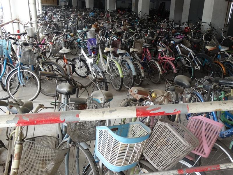 Велосипеды ,Анхойский университет,Хэфэй