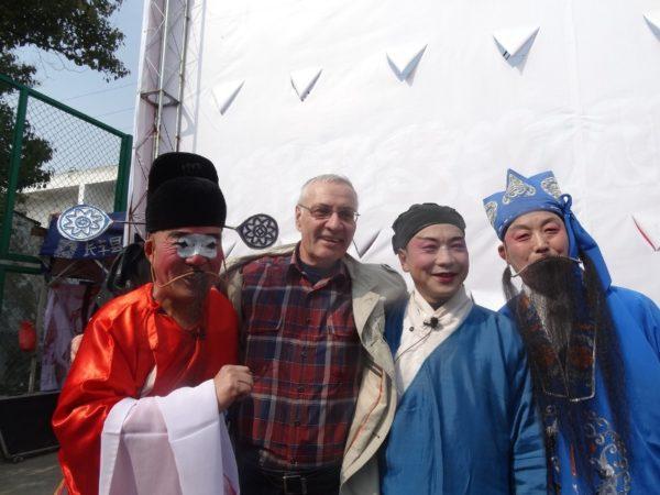 артисты китайского народного театра
