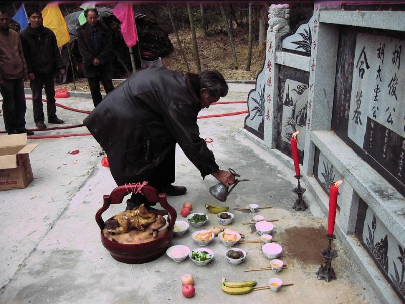 День поминовения,цинмин,Китай