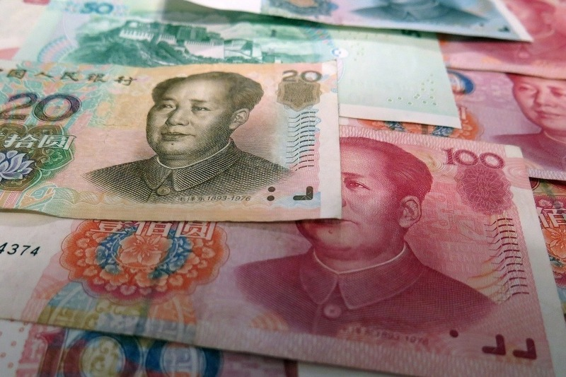 Мао Цзэдун на китайских купюрах