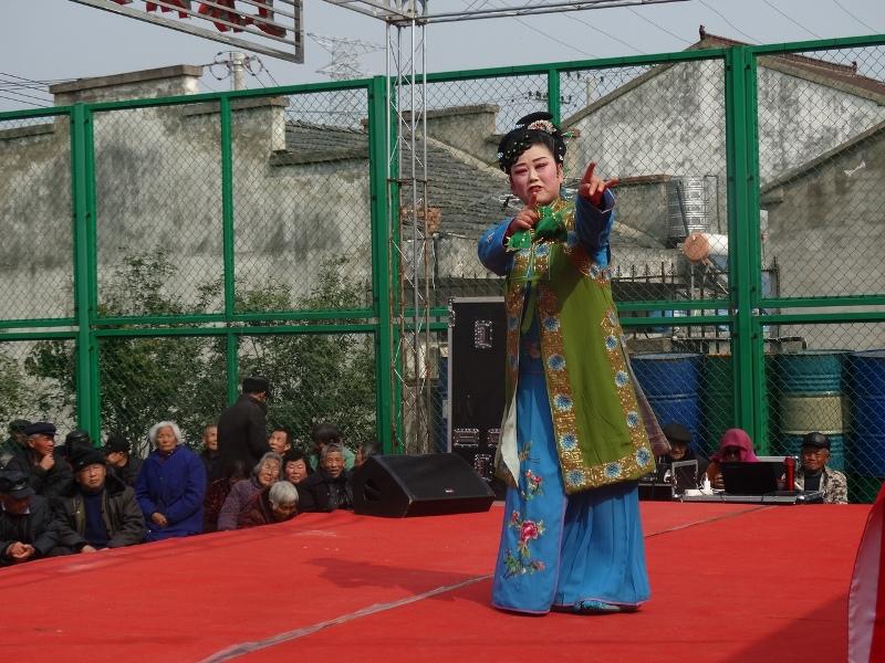 уличное представление,китайский народный театр