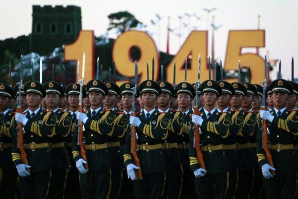 парад 9 мая Китай