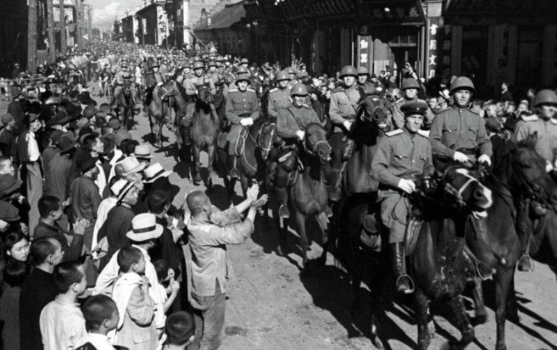 фото 1945 Китай освобождение