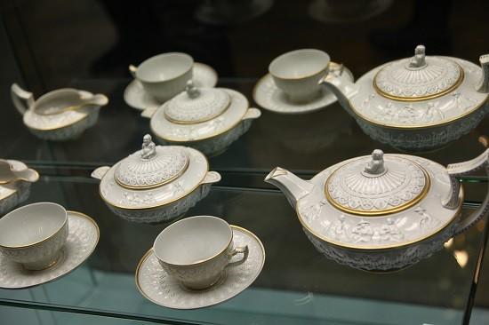 Английский клуб,старинный чайный сервиз