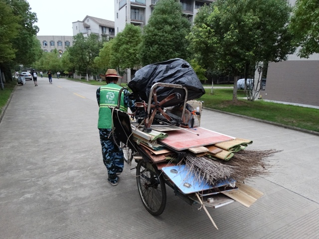 Велосипед мусор